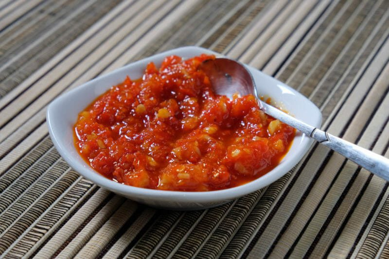 Chilli Jam Base ingredients Inspired by the flavors of Asia Vegetarian